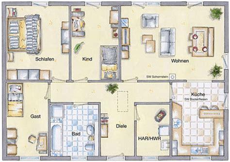 bungalow grundriss 3 schlafzimmer m 246 bel ideen - Bungalow Grundriss 3 Schlafzimmer