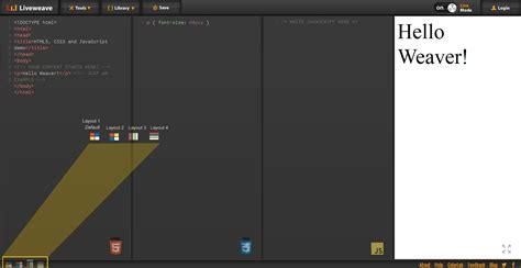 yii layout multiple content multiple layouts liveweave blog