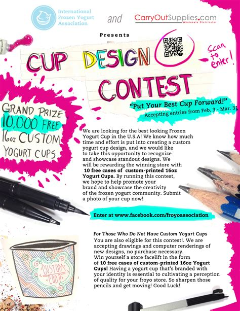 design contest flyer the international frozen yogurt association ifya s quot put