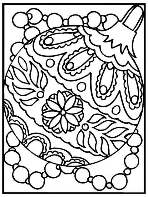 christmas ornaments coloring pages printable coloring home free christmas ornament coloring pages coloring home