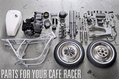 cafe racer parts  accessories return   cafe racers