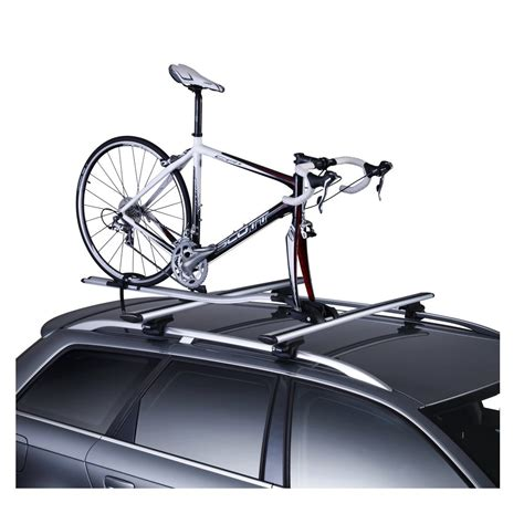 Thule Fork Mount Roof Rack by Thule 561 Outride Roof Mount Bike Rack From Direct Car Parts