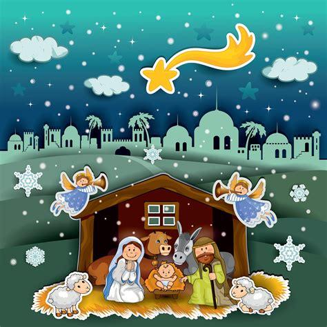 imagenes nacimiento de jesus en navidad nacimiento de jesus maria jose navidad navidad pinterest