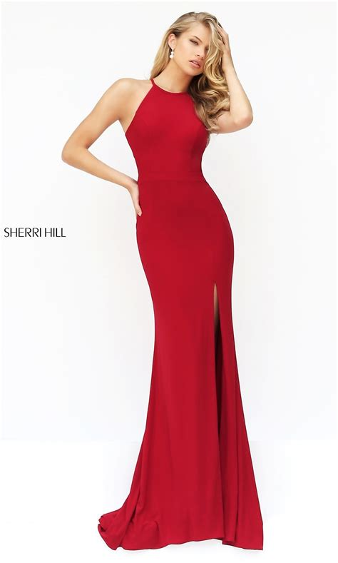 long open  sherri hill prom dress promgirl