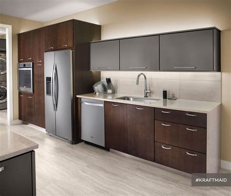 this kitchen features quartersawn cherry cabinet doors