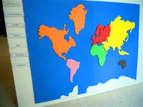 free printable montessori continent map project 18 make a montessori continent map the little list