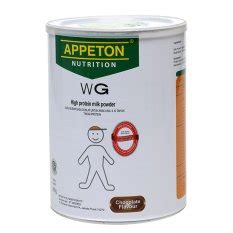 Appeton Weight Gain 900gr jual food supplements appeton terbaru lazada co id