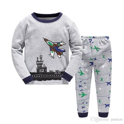airplane clothing for babies boys airplane pajamas baby set children clothes