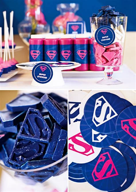 super girl themes v 1 supergirl birthday party featured on hwtm cherish paperie
