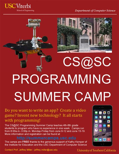 jeffrey miller usc jeffrey miller usc ife offers free coding c for girls at