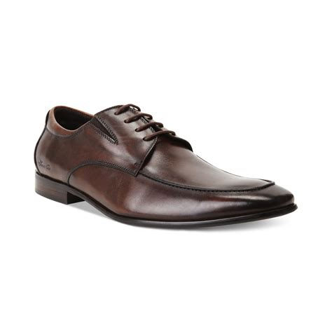 kenneth cole mens sneakers kenneth cole clothes moctoe lace up shoes in brown