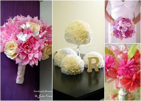Flower With Tissue Paper - paper flower template new calendar template site