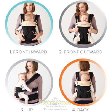 Ergo Baby Four Position Green ergobaby 4 position 360 baby carrier green baby