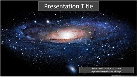 galaxy themes for powerpoint 2007 free galaxy powerpoint slide 7009 sagefox powerpoint