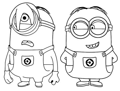 minion pumpkin coloring pages free coloring pages of minion mask