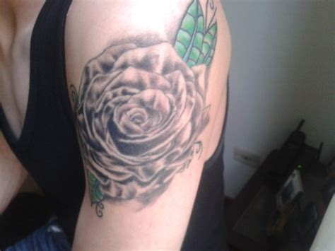 black rose tattoo albuquerque black on