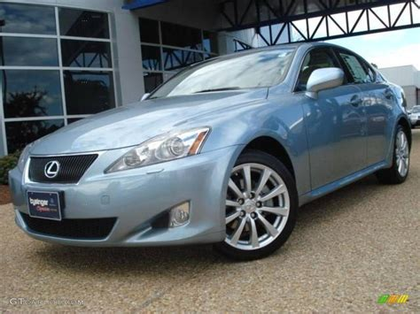 lexus is blue 2007 breakwater blue metallic lexus is 250 awd 18998382