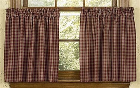 sturbridge plaid curtains wine sturbridge tiers