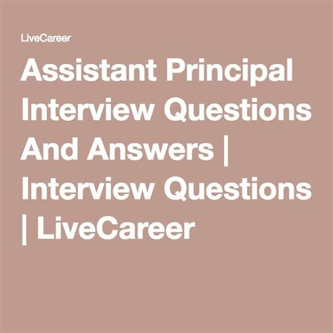 25 best ideas about assistant principal on