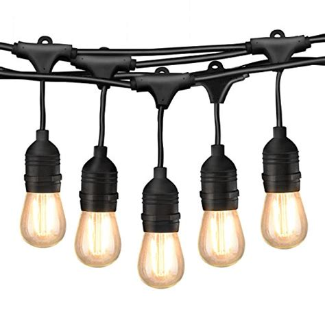 led globe lights outdoor 49ft led outdoor string lights commercial globe lights