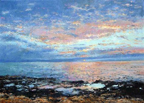 cuadros de marinas pintadas al oleo cuadro al oleo de una marina al amanecer oleos y