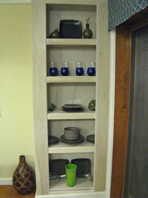 building a floor to ceiling shelving unit hgtv