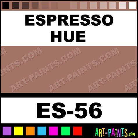 espresso eye shadows paints es 56 espresso paint espresso color ben nye eye