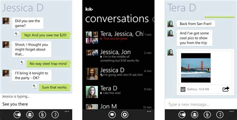 best names for kik the best messaging apps on windows phone windows central