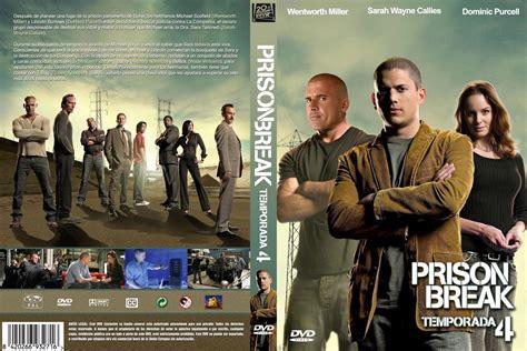 prison break cuarta temporada prison break temporada 4 dvd cover covergoodpelis