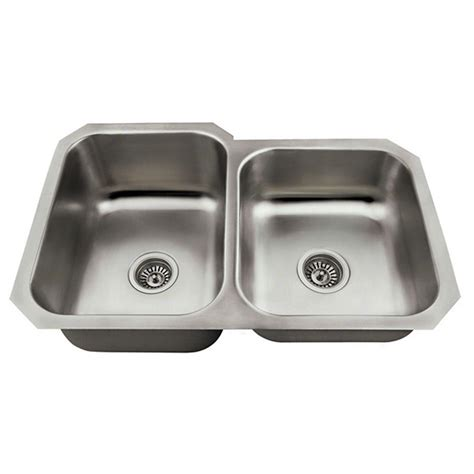 Undermount Stainless Steel Kitchen Sink Mr Direct Undermount Stainless Steel 28 In Bowl Kitchen Sink 530l The Home Depot