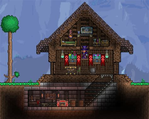 Terraria House by Top 10 Best Terraria Structure Ideas