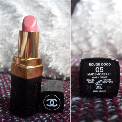 Lipstick Chanel Coco In Mademoiselle 05 test lippenstift chanel coco lipstick farbe 05 mademoiselle testbericht
