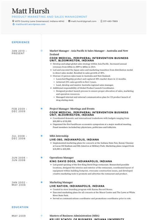 Resume New Zealand Format Company Lumber Manager Resume