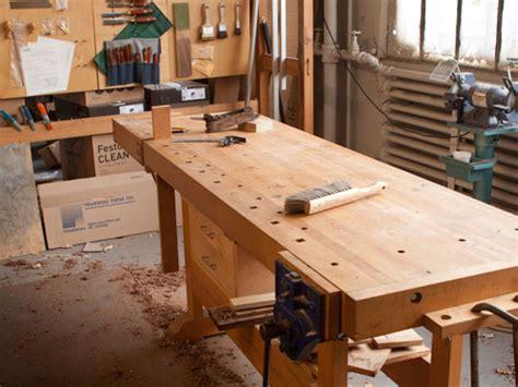 building frank klausz workbench diy backyard swing