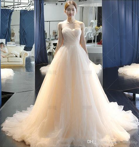 ivory color dress discount 2018 oem bridal gowns custom made vintage