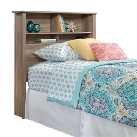oak headboard twin twin bookcase headboard in salt oak 419460