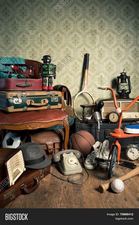 Vintage Giveaways - memories attic image photo bigstock