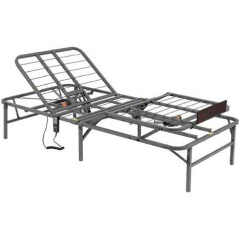 new xl size grey pragmatic adjustable bed frame and foot by pragma bed ebay