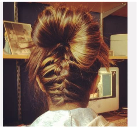 hairstyles buns tumblr braided bun on tumblr