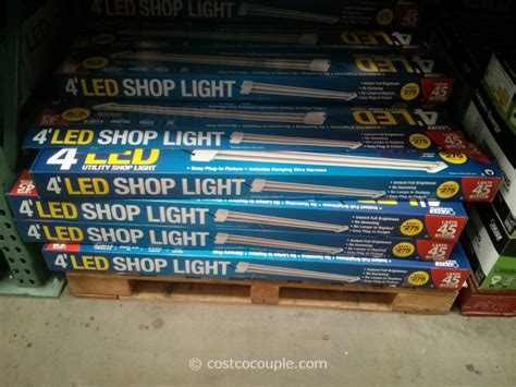 4 led shop light feit electric 4ft led shop light