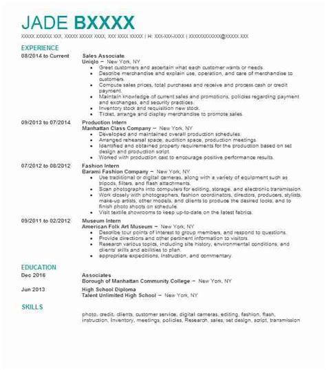 Resume Sles In Jamaica Humanities And Liberal Arts Resume Exles Sles Livecareer