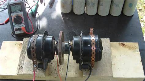 Capasitor Ac 10 Uf Hd electric motor to motor can they self run