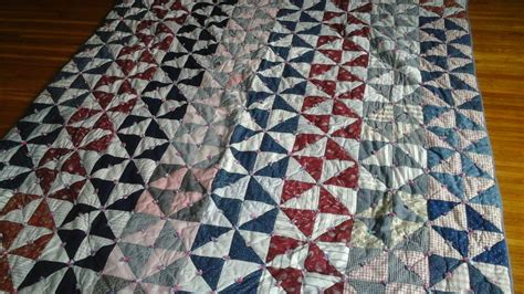Antique Handmade Quilts Value - antique 1940 s farmer bed quilt new price