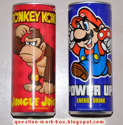 energy drink questions the question box mario power up energy drink