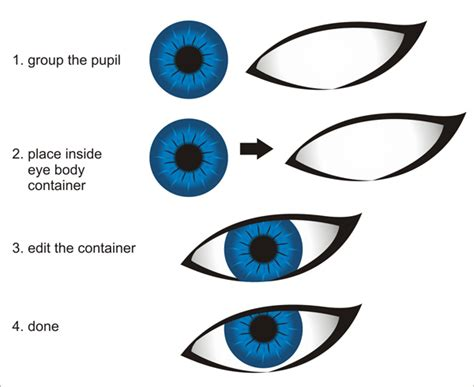 tutorial corel draw vector creating vector eyes with coreldraw