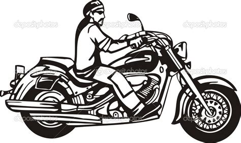Motorrad Chopper Zeichnung by Motorcycle Clipart Harley Davidson Pencil And In Color