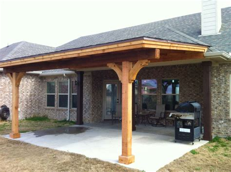 Wood Patio Covers : Acvap Homes   Ideas For Grills For