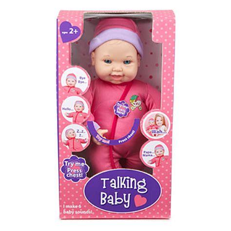 talking baby dolls talking baby doll big lots