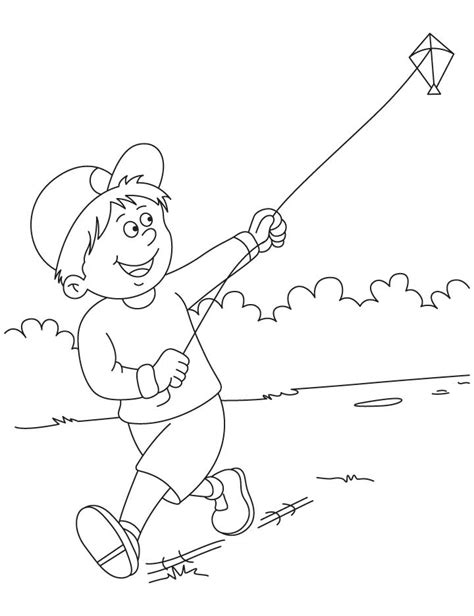 coloring page of kite kite color pages coloring home
