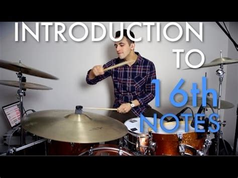 drum rhythms online introduction to 16th notes easy beginner drum lesson